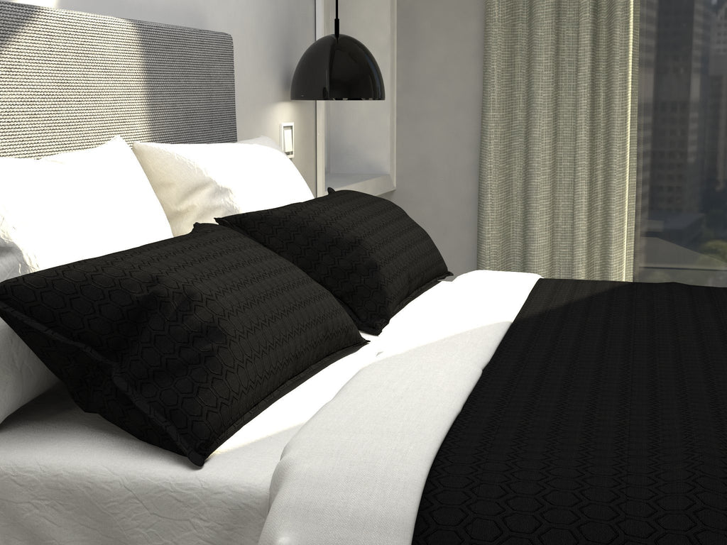 Cultured Soul Coverlet in Honeycomb