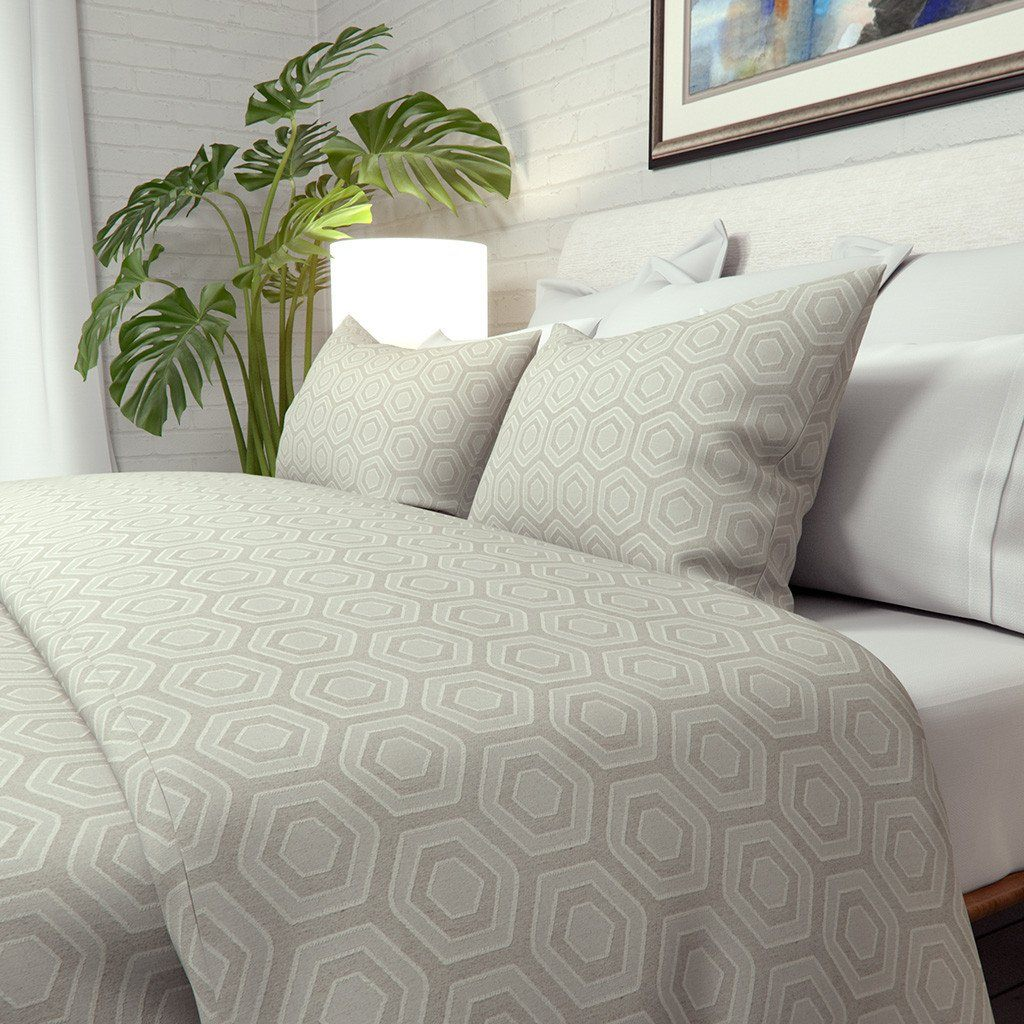 Continuous Journey Duvet Cover in Hexagon