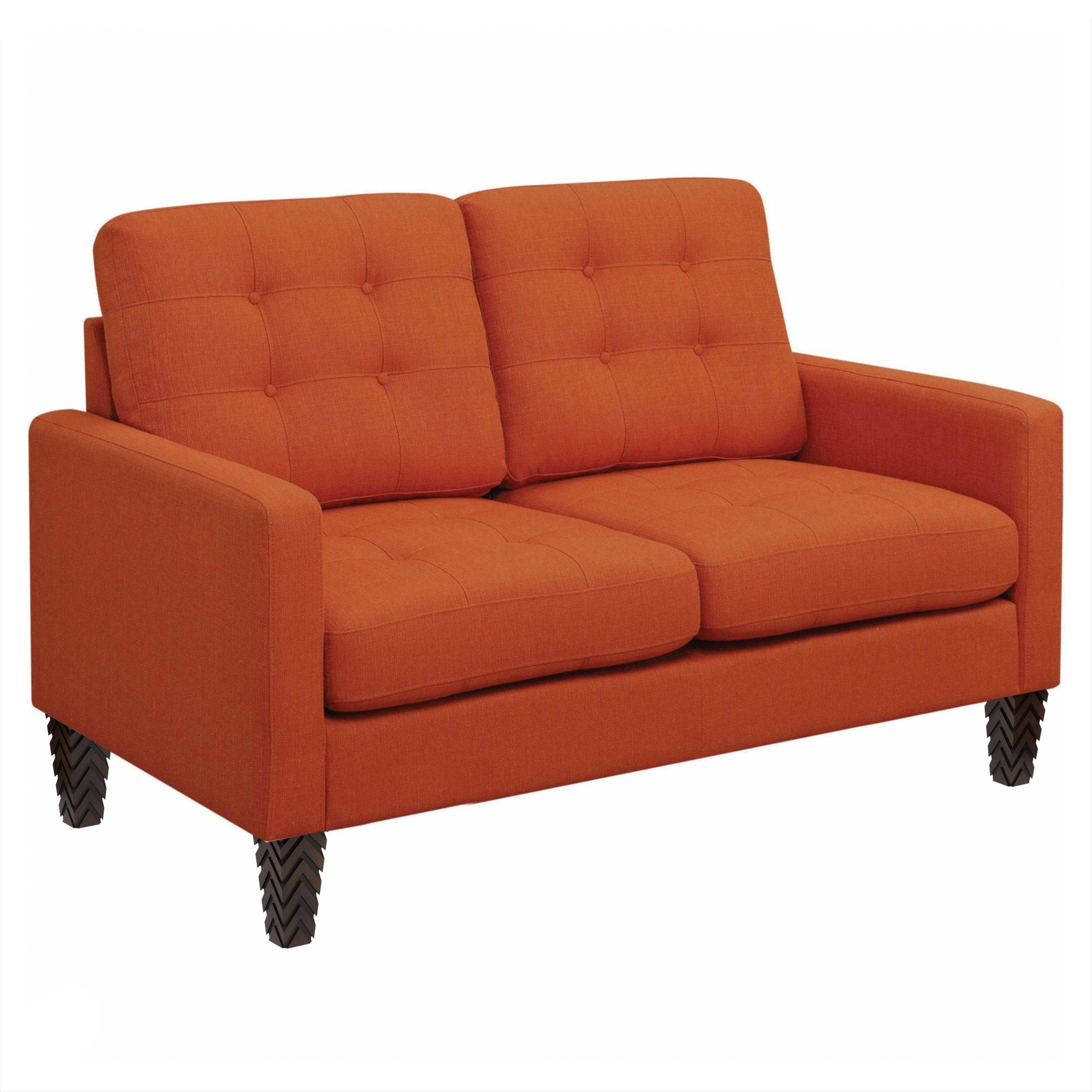 Kessa Loveseat Orange