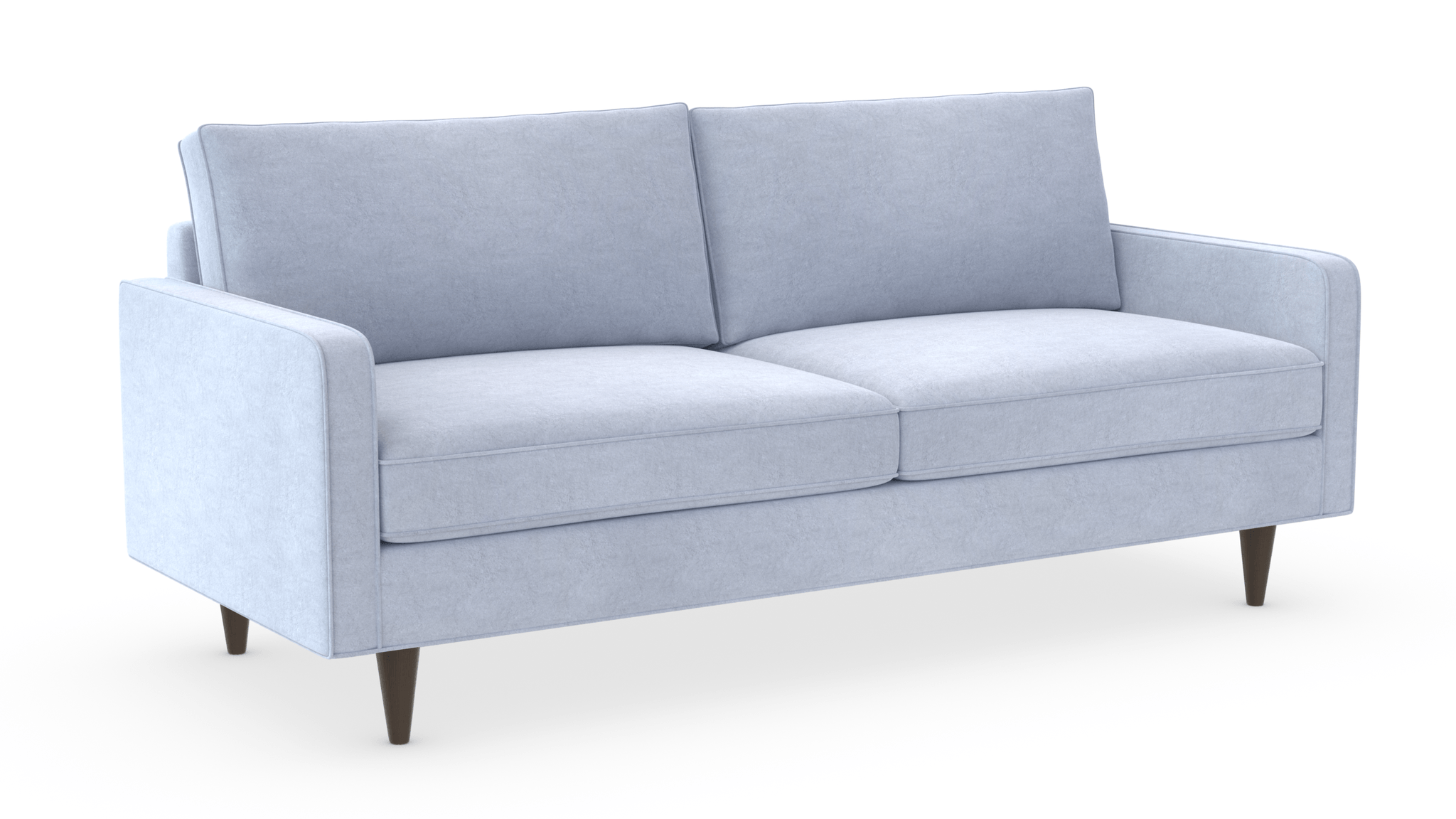 Lenny Apartment Sofa Wood Legs 71""