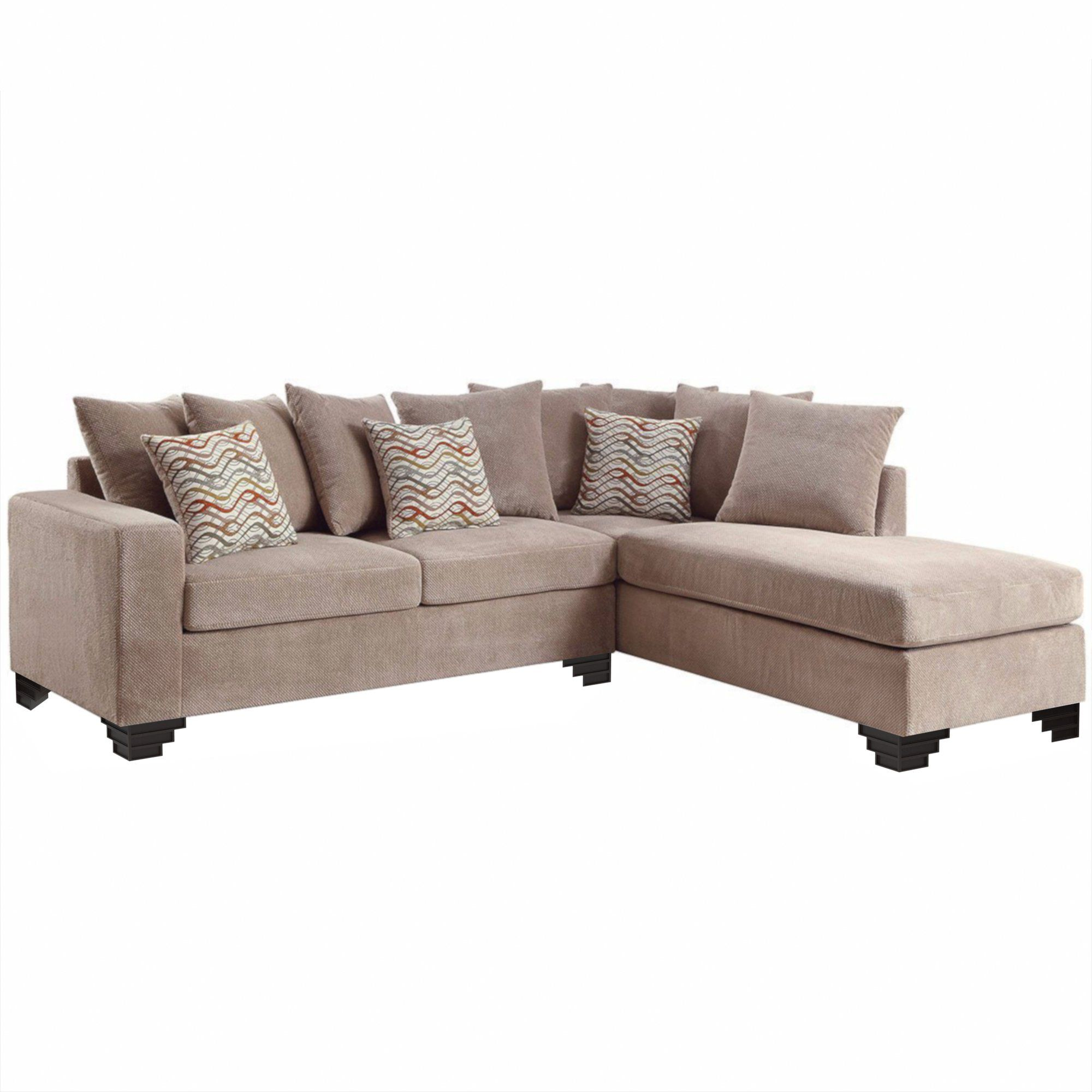 Olly Taupe 2-Piece Reversible Sectional