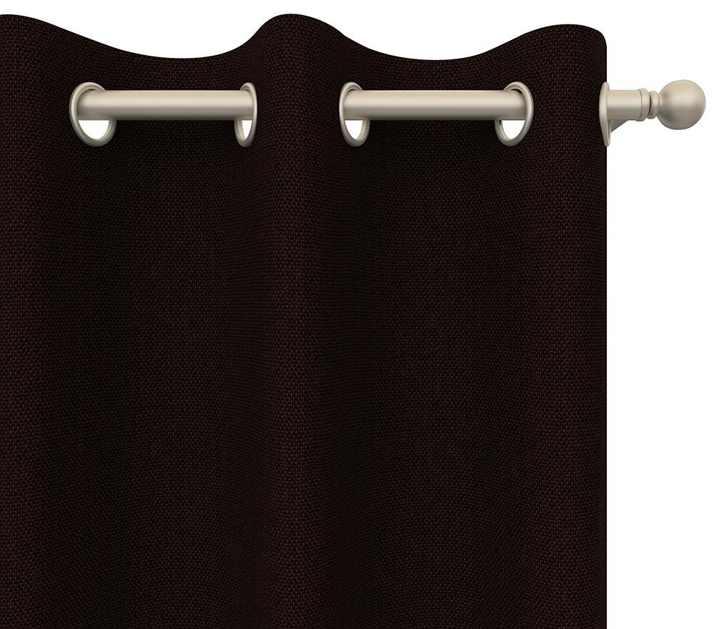Alanzo Alarcon Drapery Panel in Pinpoint Grommet 84