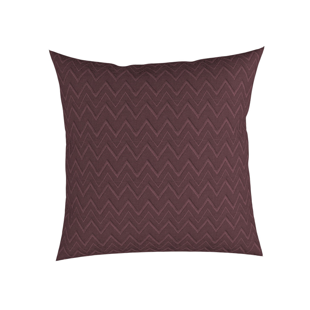 "Cultured Soul Pillow in Chevron 18"", Set Of 2"