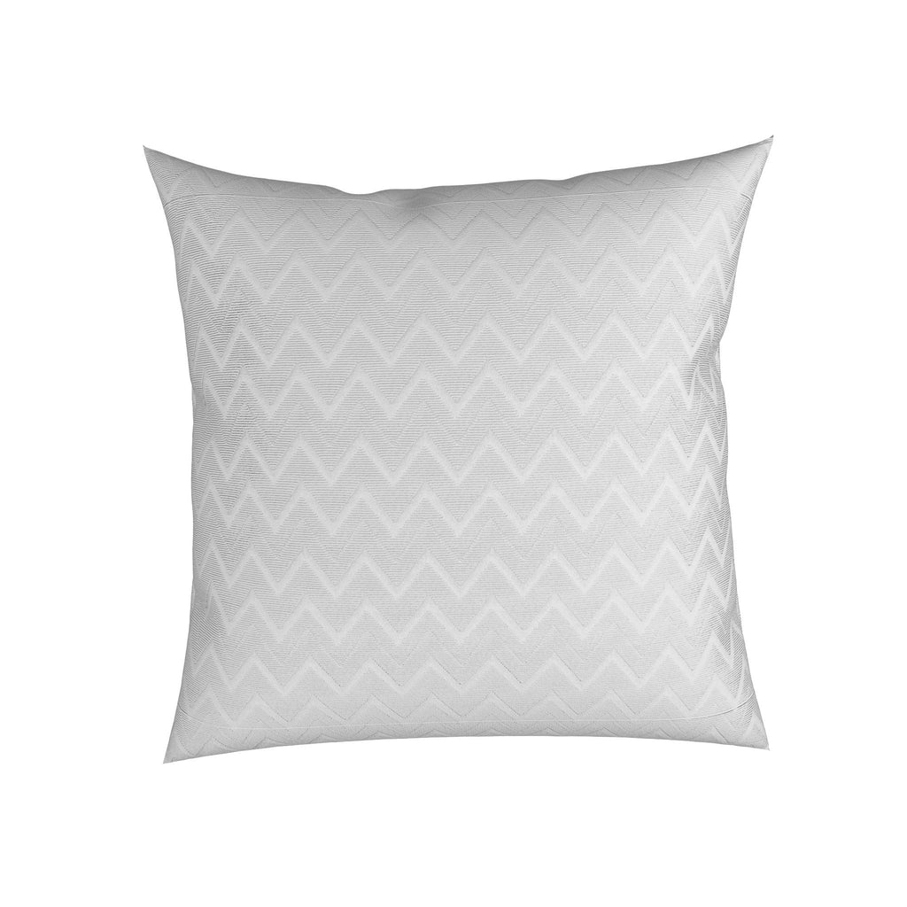 "Chevron- Pair of 18"" with Feather Inserts"