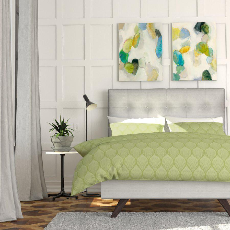 Mikayo Saito Duvet Cover in Tropicalia