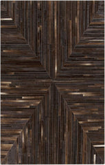 Appalachian App-1001 Brown Hand Crafted Area Rug