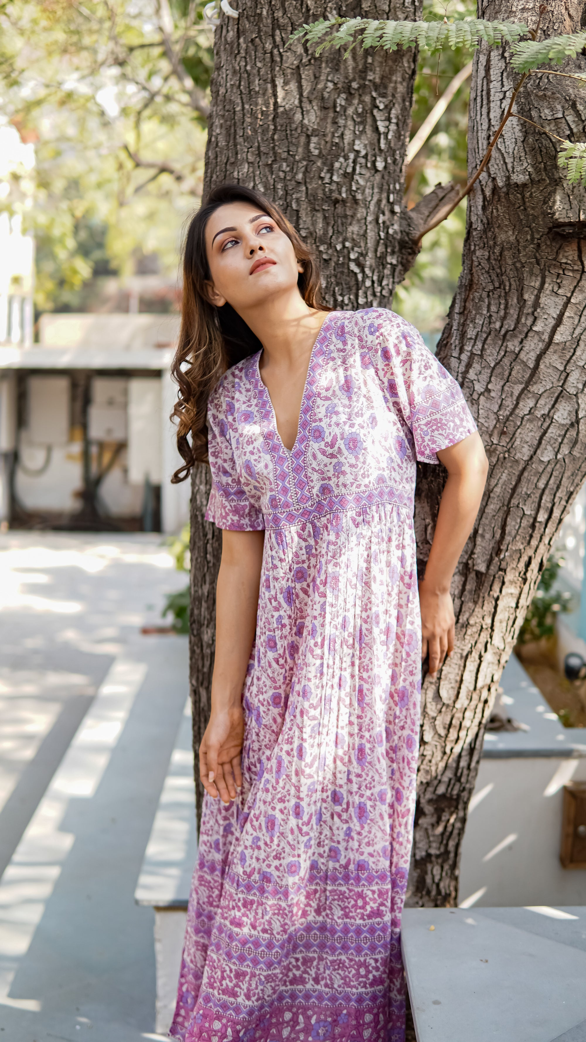 Valentina long kaftan dress