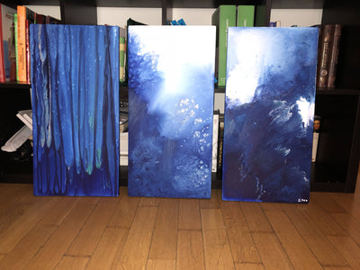 Triptych Sea depths