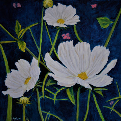 afekwo Oil on linen canvas Daisy Dreams wydr - digital art gallery