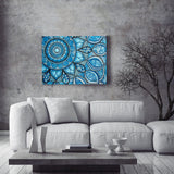 Anja Berloznik acrylic Mandala of water wydr - digital art gallery