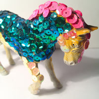 Brav-art sculpture Horse glitter wydr - digital art gallery