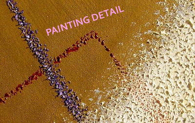 Carlo Dottor Oil in relief (point by point), acrylic primer, on canvas. √INFINITE/3 wydr - digital art gallery