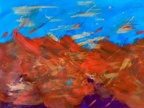 Carol Auld Visions of Santa Fe wydr - digital art gallery