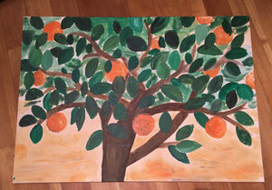 Mediterranean Orange Tree