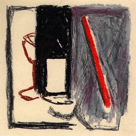 G2 Black Stone, Oil Pastel Au Café VI wydr - digital art gallery