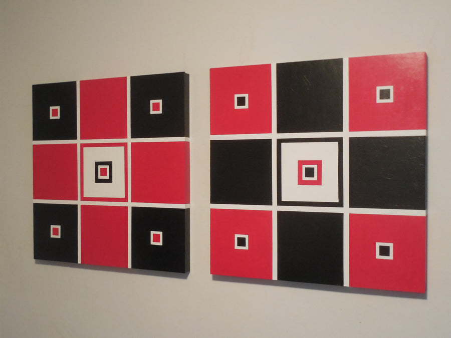 jim ramirez painting All These Squares wydr - digital art gallery