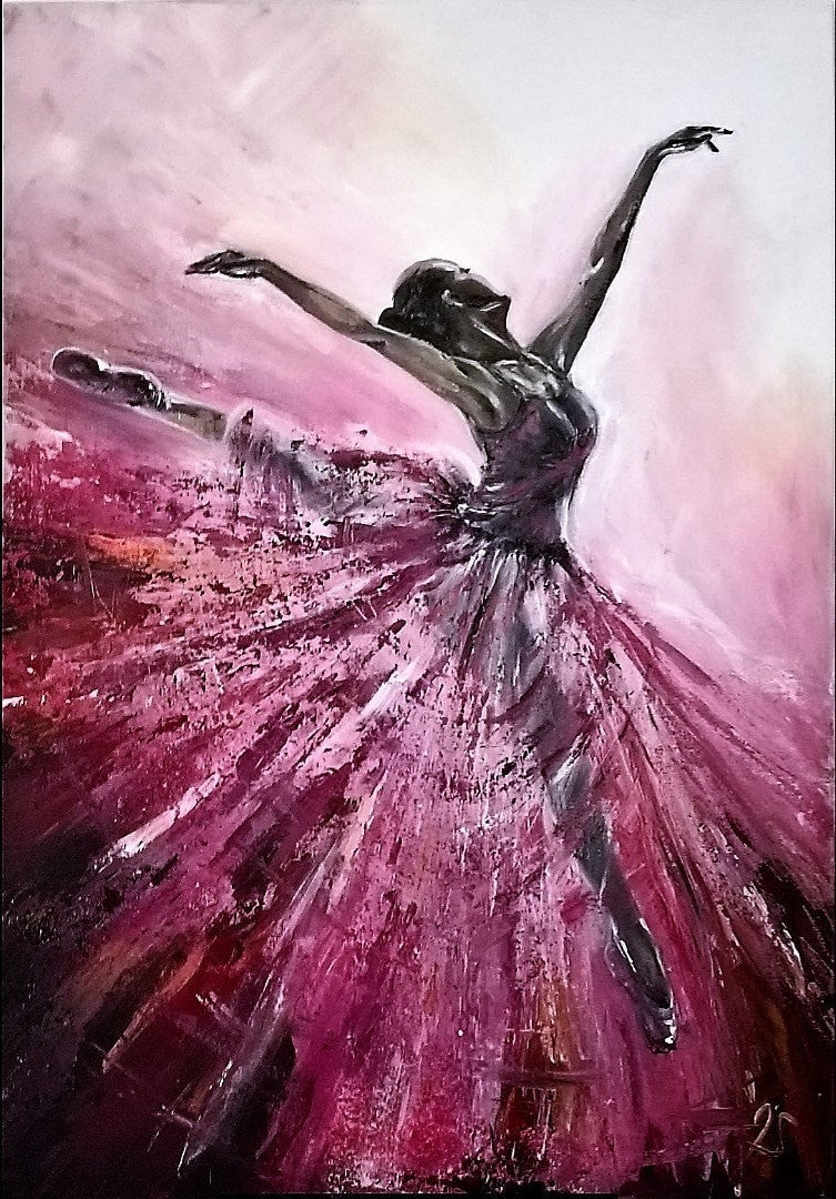 Juliane Acrylic Ballerina wydr - digital art gallery