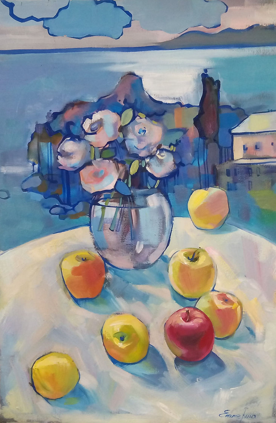 Katerina Okhrimenko oil apples wydr - digital art gallery