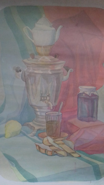 LuPa Watercolor SAMOVAR wydr - digital art gallery