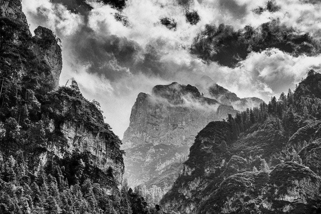 Michael Wagener Photograph Dolomites wydr - digital art gallery