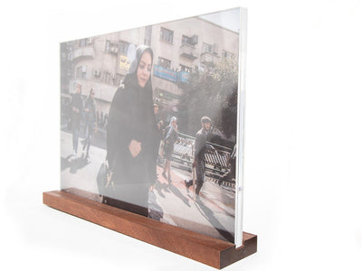 Michael Wagener Photographie / Transparent Print / Plexiglas Streetlife Iran wydr - digital art gallery