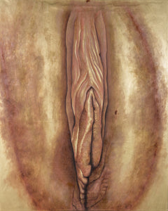 Olarte Galeria y Taller Mixed Media THE GOLDEN VAGINA: YELLOW wydr - digital art gallery