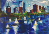 Olga Bohl Acrylic oil Boston wydr - digital art gallery