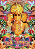 Oliver Topple digital Ganesha wydr - digital art gallery