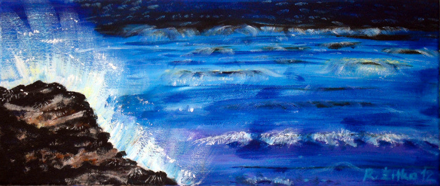PaintingStudioRomy acrylic The Sound of the Sea wydr - digital art gallery