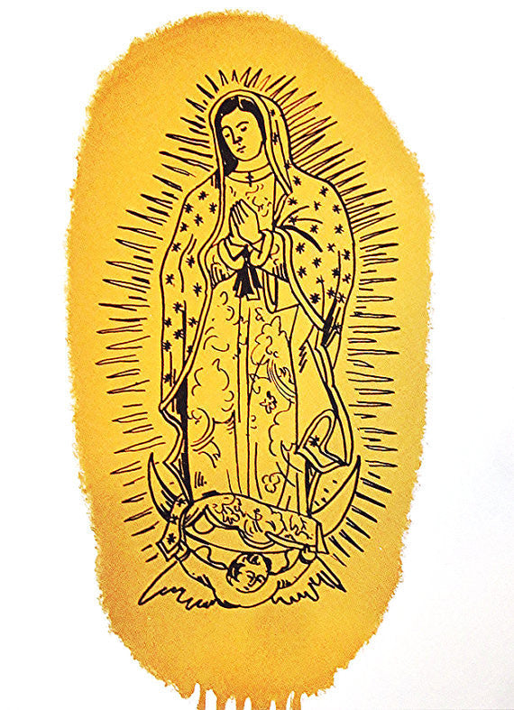 Paul Hammacott Our Lady of Guadalupe wydr - digital art gallery