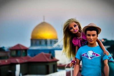 PescArt photography Barbie Loves Israel: Golden Jerusalem wydr - digital art gallery