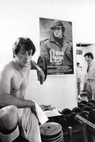 Quality Vintage - Photography Archive Photography - Silver Gelatin Print Sylvester Stallone (in training for Rocky II), 1978 Original vintage print Printed c. 1978 wydr - digital art gallery