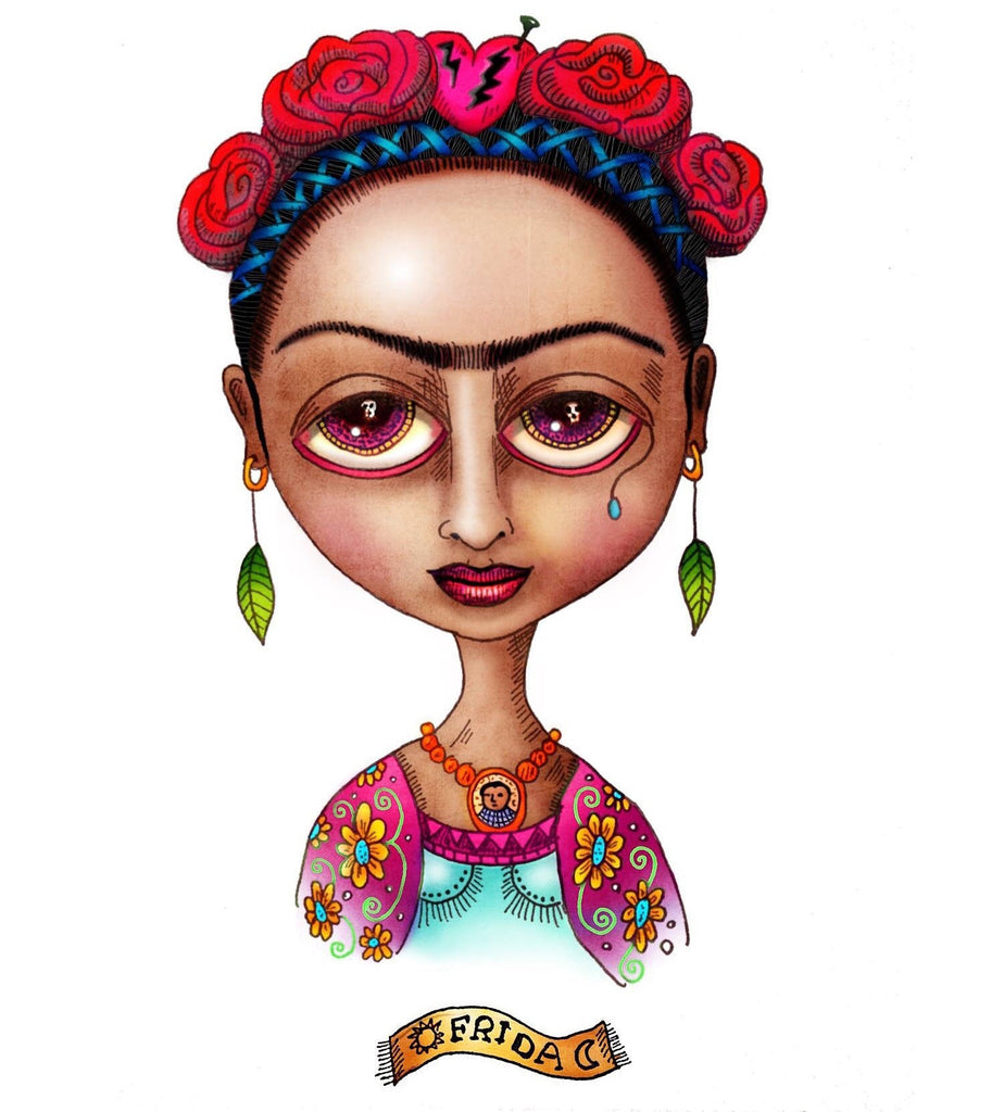 Remy Acrylic Frida wydr - digital art gallery
