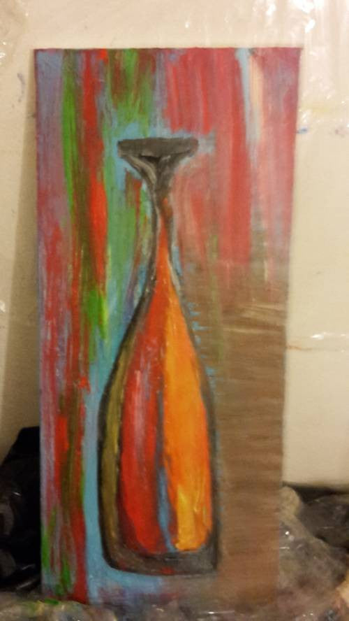 RK painting Abstract Vase wydr - digital art gallery