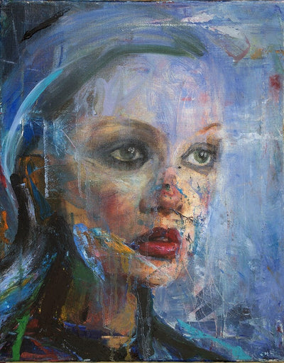 stefan petrunov oil color on canvas Face wydr - digital art gallery