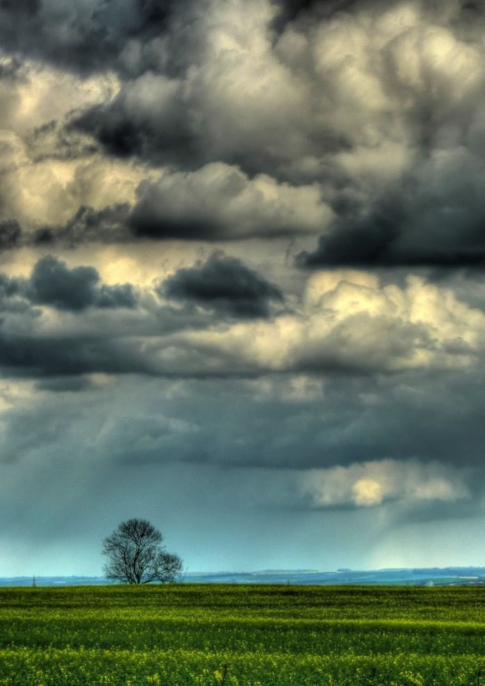 Steven Roberts MA photography Cambridgeshire Brooding Sky Number 1 wydr - digital art gallery
