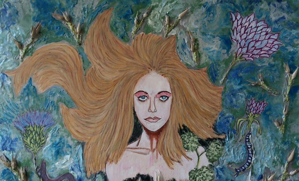 tonygarcon Mixed Media Madre Naturaleza wydr - digital art gallery