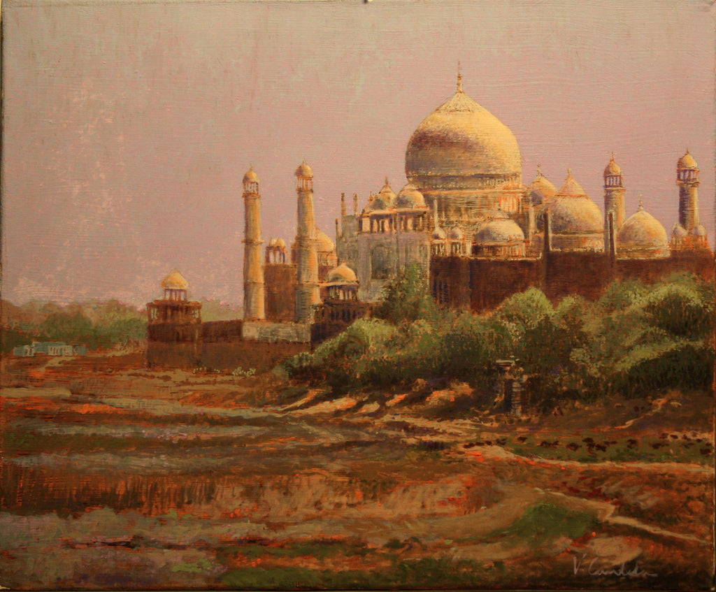 Victor Candela oil Taj Majal wydr - digital art gallery