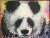 Volane Spraycans Panda wydr - digital art gallery
