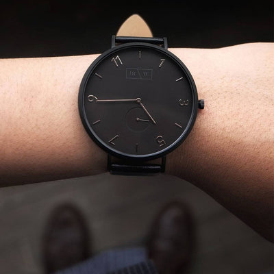 The Sammy Watch - 48mm Black on Black