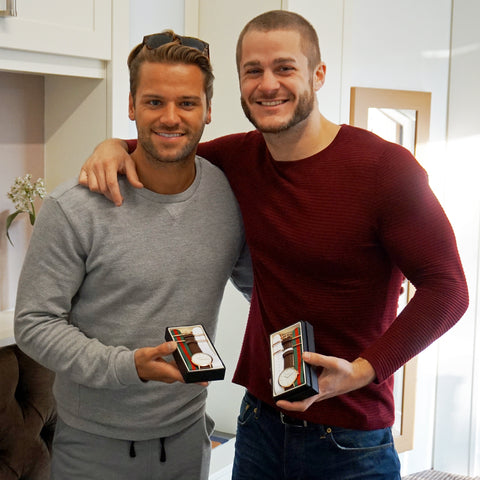 James Hill and Austin Armacost