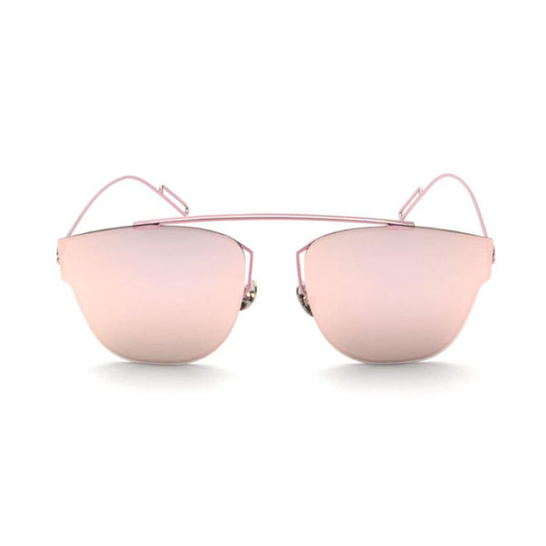 Aviator sunglasses pink frame