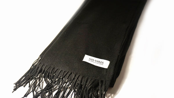 Signature Scarf Ebony by Vis Vires
