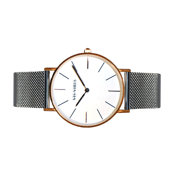 Sterling Rose Gold Timepiece 40mm