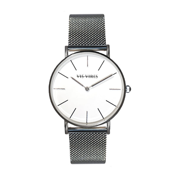 Sterling Silver Mesh Watch 36mm Vis Vires