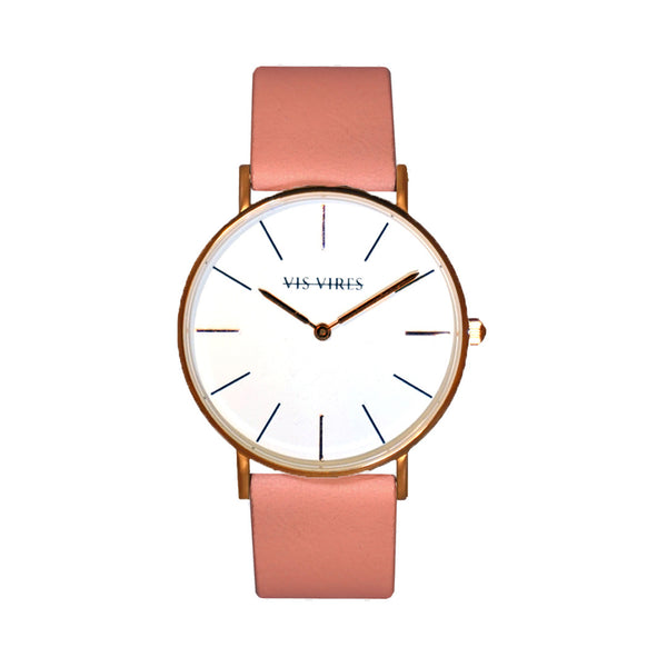 Candy Pink Rose Gold Watch 36mm Vis Vires