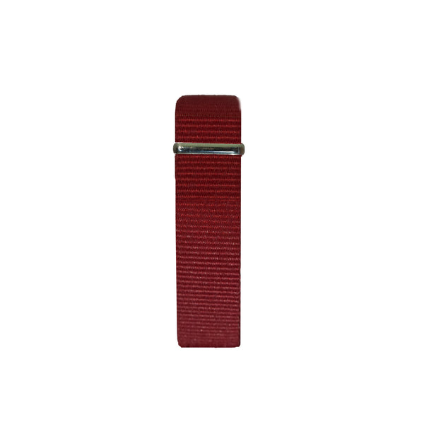 Burgundy nato band by vis vires