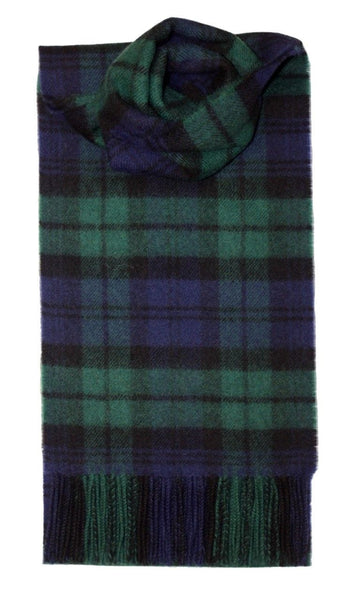 Vis Vires Highlands Scarf Collection - Black Watch Chesterfield