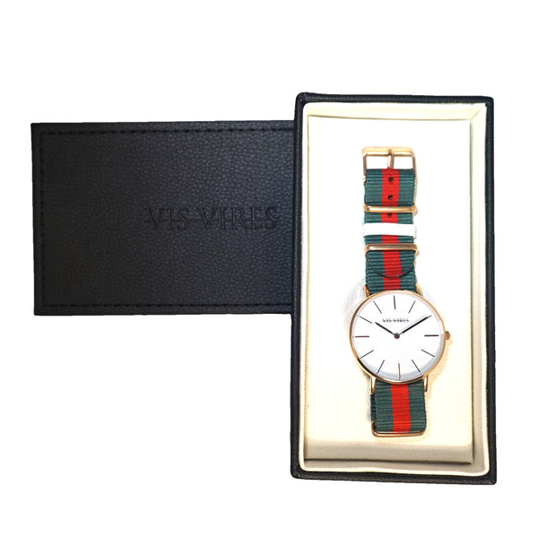 Vis Vires Devonshire Watch 40mm Man