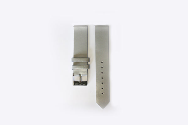 Pebble Strap Silver Buckle